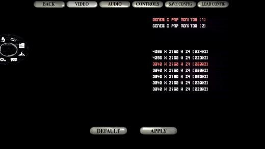 Config Screen Update