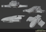 Continuation of creating a ship