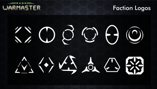 UI/UX Artist: Faction Logos