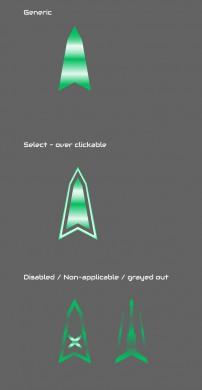 UI/UX Artist: Cursor Development