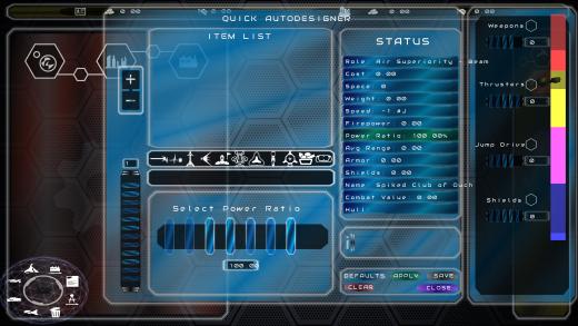 UI/UX Artist: Quick Designer Update — Power Ratios!