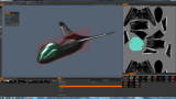 Fighter Ship Texturing